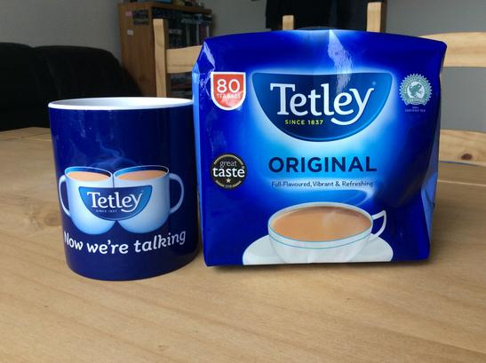 @tetleyuk Thank you for the awesome Tetley goodies. https://t.co/DBu5alNS3S