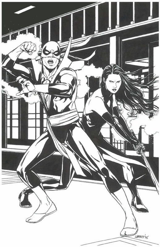 Heroes for Hire @DLivingWeapon Art by: @monkey__marc