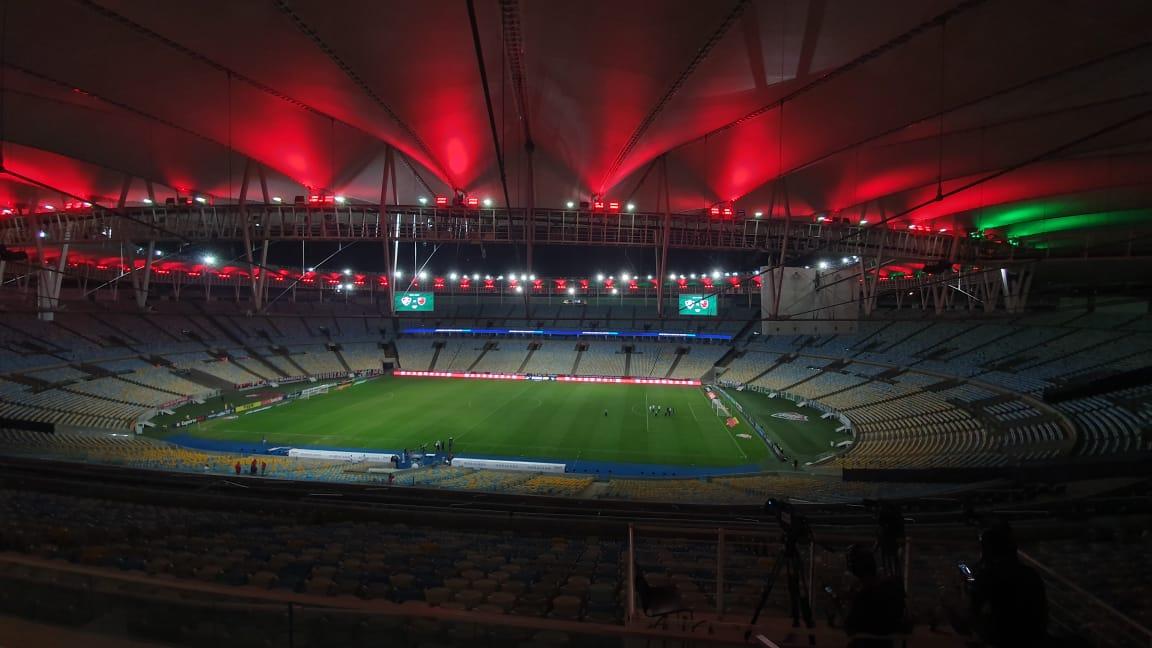 🏆 Taça Rio (Final) ⚽ Fluminense x Flamengo 🏟️ Maracanã ⏰ 21h30 📺 https://t.co/FAJ5tHZO7o https://t.co/ubCvyTmSTS