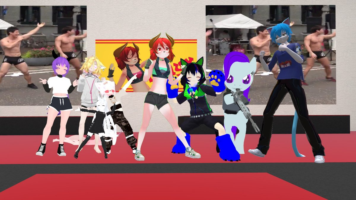 Fantastic workout session everyone! Glad to be back to doing these with you all!   Tagging a few others because of me disconnecting during this morning's session! I didn't get any pictures! @LahyxVrc @andyaas1 @RainNine_VR @ST6_VR @GTX480_gtp @VRCHwoarangpic.twitter.com/O6U8xXiqmA