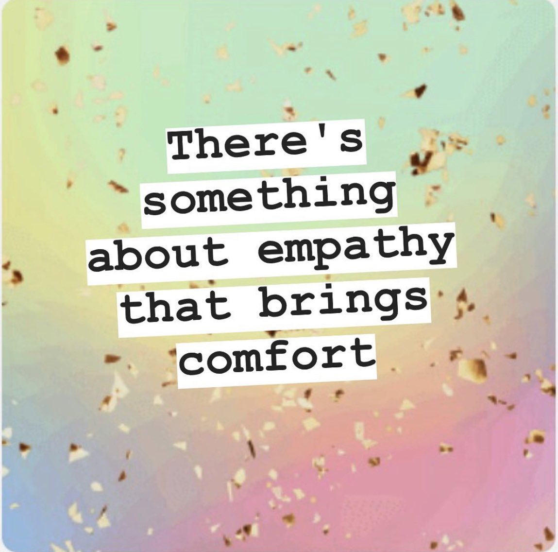 You'd be amazed at how simply being with and offering no advice or solutions could make some one feel safe, secure, seen, and relieved.#empathy #safety #security #loved #love #loveislove #cherish #postoftheday #post #goodvibespic.twitter.com/V4HqqaNB4A