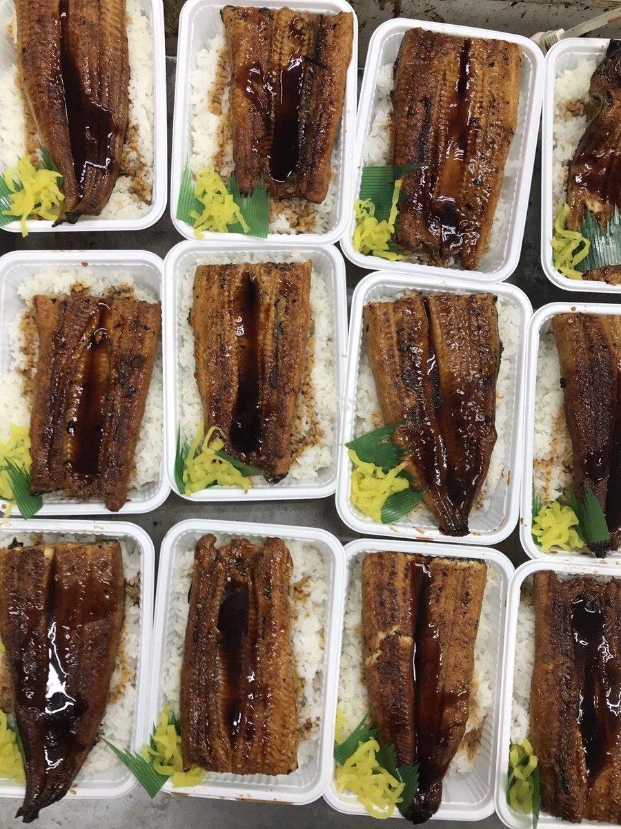 1キロ鰻丼を100日間毎日限定1個1円で売る店。キッチンDIVE。1日目販売。