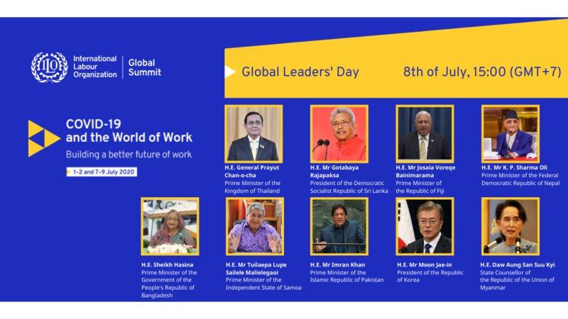 Leaders from Asia-Pacific address ILO Virtual Global Summit on COVID-19 and the World of Work  https://t.co/4QXFQ0nisS #ILOSummit #COVIDー19 #worldofwork #Summit #Labor https://t.co/4ElrL9nKsz