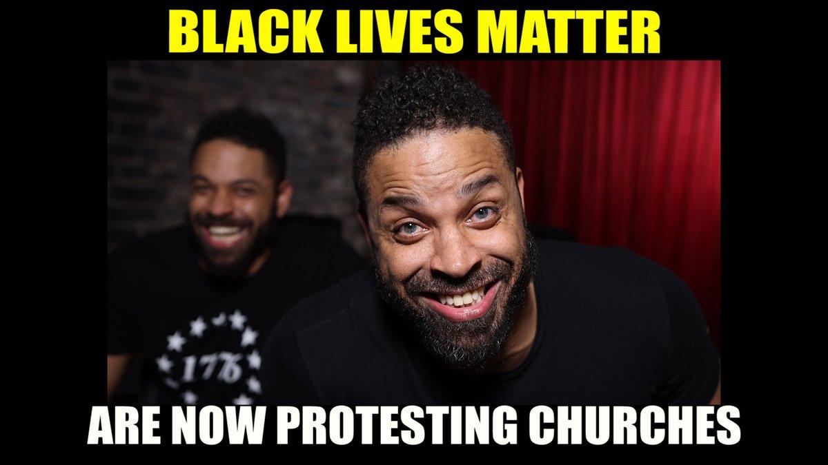 Black Lives Matter Are Now Protesting Churches #blm #protests #blacklivesmatter https://t.co/Bay4tpDocm
