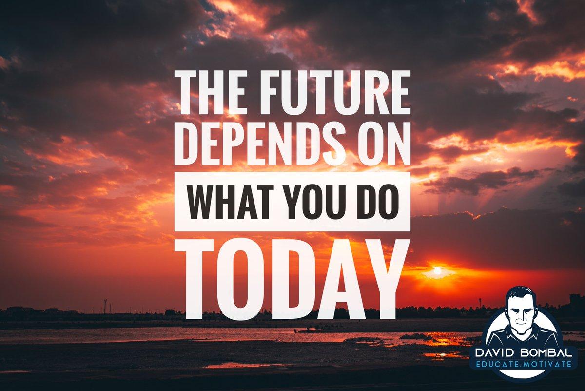 The future depends on what you do today.  ~ Mahatma Gandhi  #motivationquotes #dailymotivation #ccna #inspirationalquote #cisco pic.twitter.com/6pTfjjgSgR