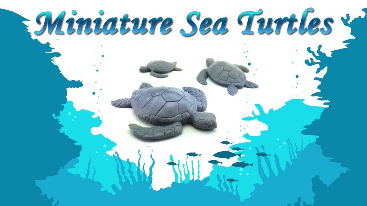 New item up in the store. Sea Turtle set! #tabletopgaming #ttg #figurine #painting #minis https://t.co/3m6HmsINag https://t.co/0NUCzyWvfP