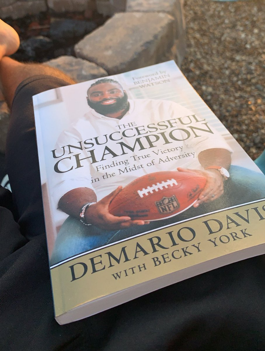 When one of your former players writes a book, it becomes an automatic read. Let's do this @demario__davis . So proud of you, young man