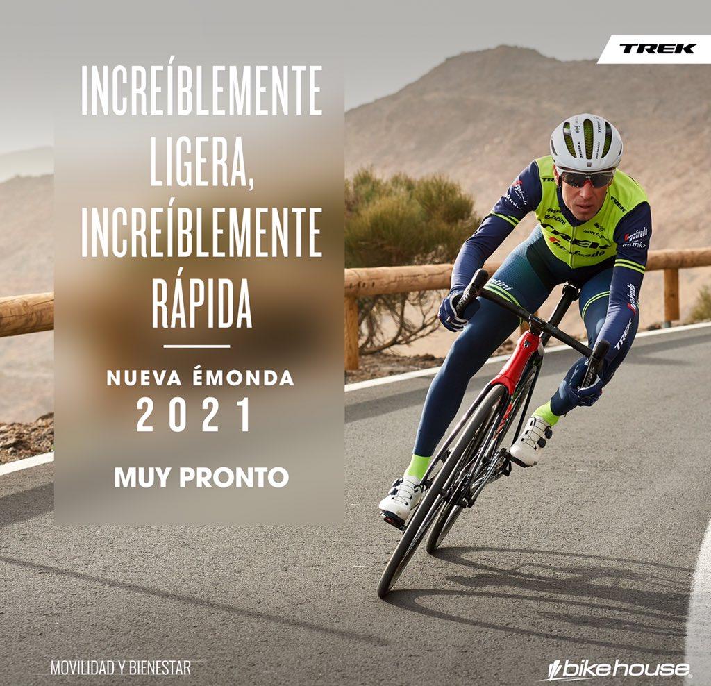 #TrekColombia | Ultraligera y ultraveloz. La nueva @bikehouse_co @TrekBikes #Emonda 2021 llegará para enamorarte. 🚴♂️🇨🇴🏆 . #LanzamientosBikeHouse https://t.co/RfSsF6J0zb. . #Trek #BikeHouse #VamosEscarabajos #CiclismoColombiano #Colombia #Ciclismo https://t.co/FyyEPzjmbl