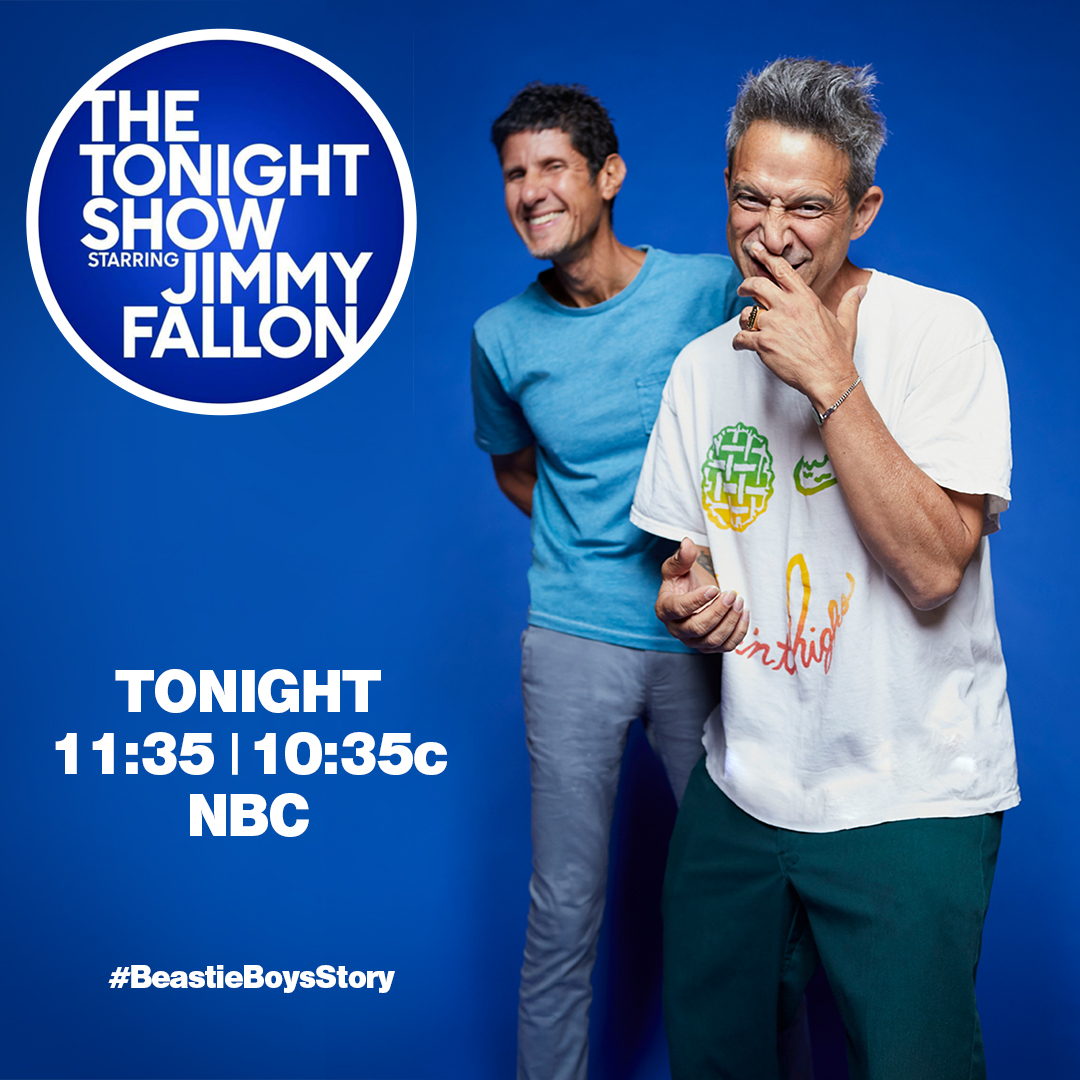 Another chance to catch The Tonight Show interview with @jimmyfallon tonight at 11:35/10:35c on NBC. @FallonTonight https://t.co/Ipwa65cUeh