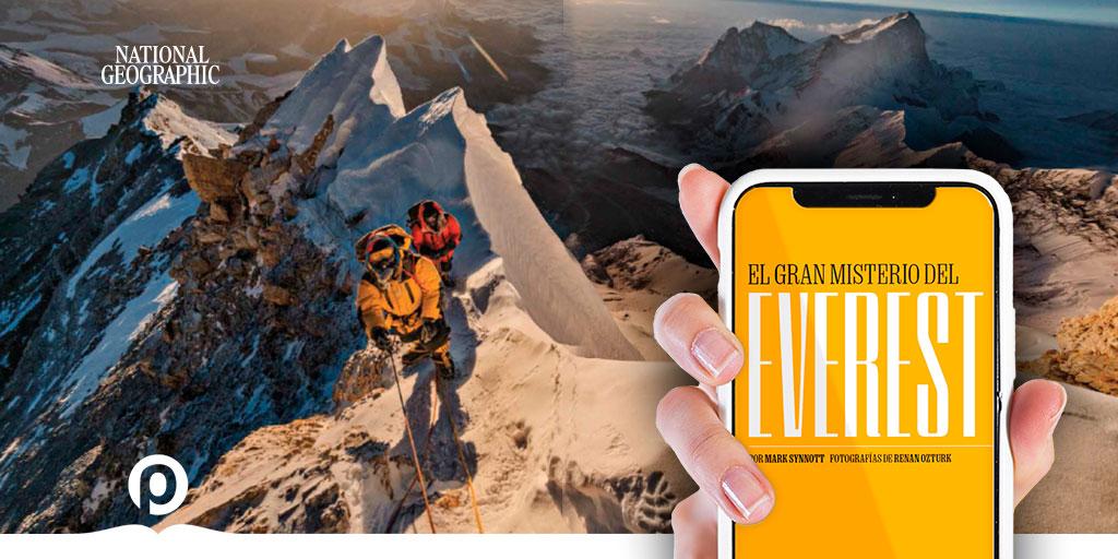 #Mundo| #Everest. #Travesía a la #cima del mundo. Léelo en la @RevistaNatGeo de #PasaLaPágina → https://t.co/QKN5aYZYBu  #Revistas #FelizMiércoles #Historia #Fotografía #Reportajes #Photo #Ciencia #World #allyoucanread #magazine #LecturaDigital #Leer #Lectura #Noticia #Digital https://t.co/nxTqGWnbwP