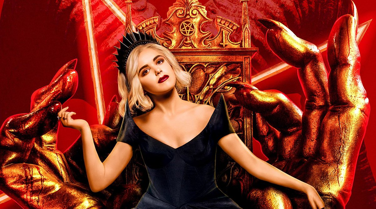 'THE CHILLING ADVENTURES OF SABRINA' has been cancelled at Netflix.   Season 4 will now be the show's final season.  (Source:  https:// tvline.com/2020/07/08/chi lling-adventures-of-sabrina-cancelled-season-4-netflix/   … )<br>http://pic.twitter.com/ooBGhbLLxx