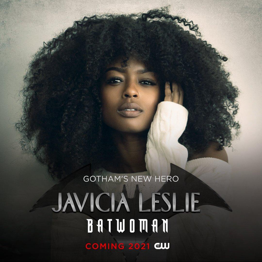 .@JaviciaLeslie is Gothams new hero. #Batwoman Season 2 is coming in 2021!