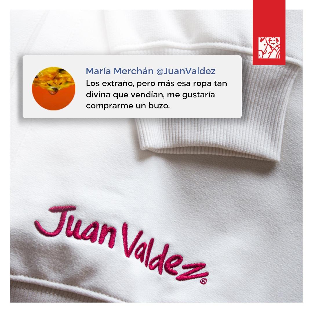 Para todos los que quieren la ropa con la marca Juan Valdez, abrimos una nueva tienda donde podrán antojarse de muchas cosas más. 😍 https://t.co/nQypvDBbdx