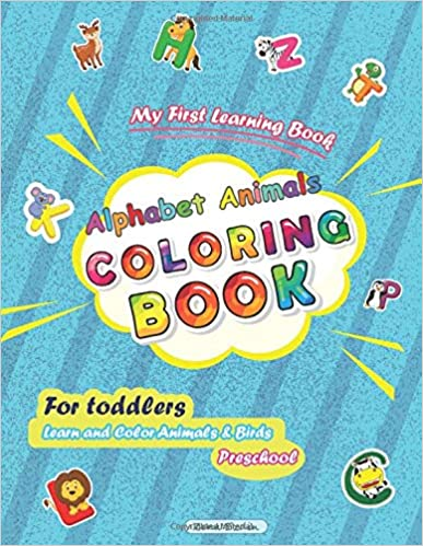 My First Learning Book ... Preschool ABC Learning and coloring Book .  Buy from Amazon.  https://amzn.to/2Ytzm8o  #coloringbook #learning #Alphabet #toddlers #kindledeals #thursdayvibes #thursdaymorningpic.twitter.com/MK454Gb6Iu