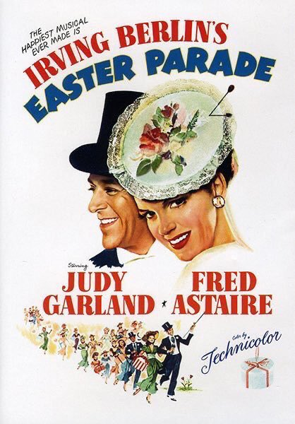 MOVIE HISTORY: 72 years ago today, July 8, 1948, the movie 'Easter Parade' opened in theaters!  #JudyGarland #FredAstaire #PeterLawford #AnnMiller #JeniLeGon #JulesMunshin #ClintonSundberg #JimmyBates @MGM_Studiospic.twitter.com/Fx03N4Jakz