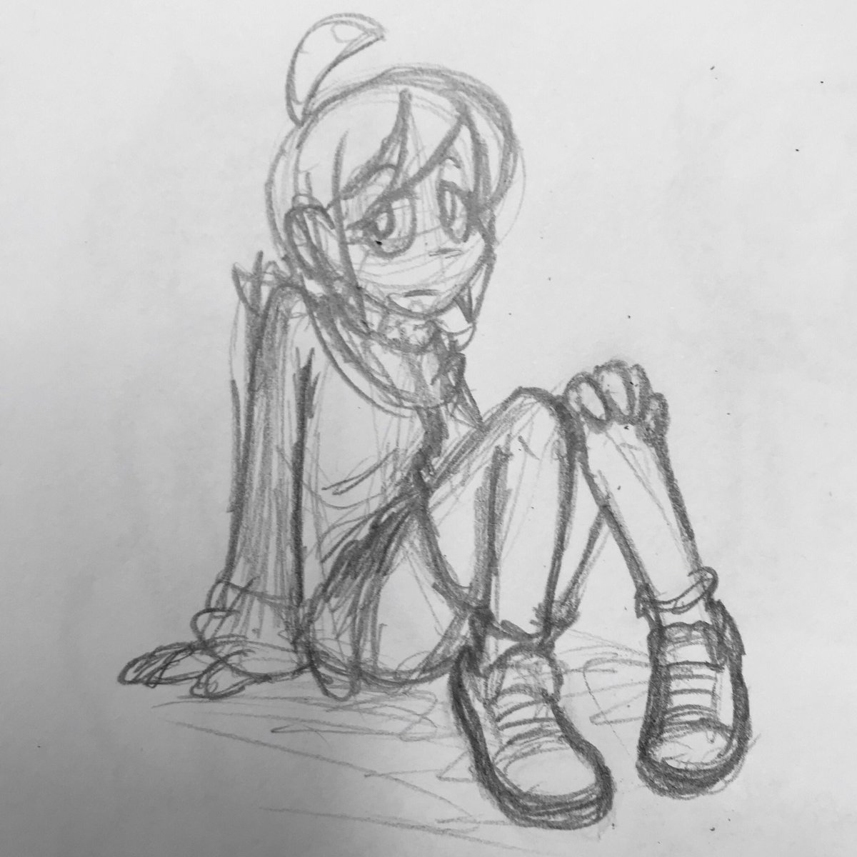 Another drawing of girl