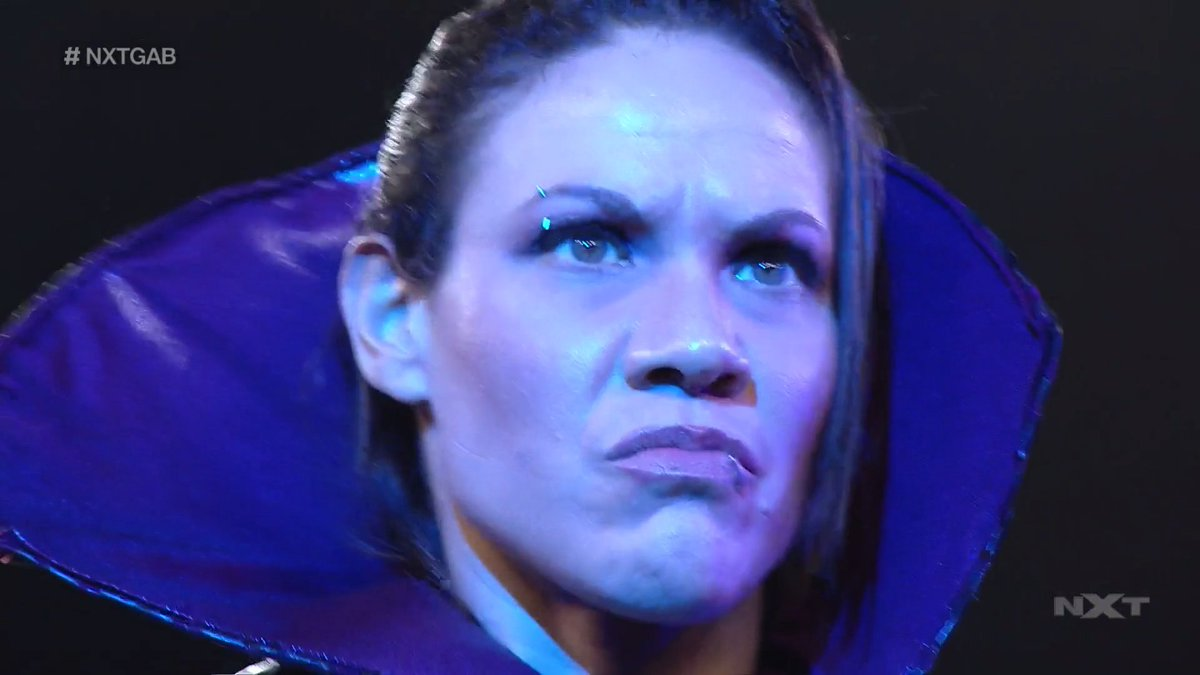You do 𝒏𝒐𝒕 want to be on the receiving end of this stare.  @RealMMartinez has arrived. #WWENXT #NXTGAB https://t.co/2YTAyPH6YA