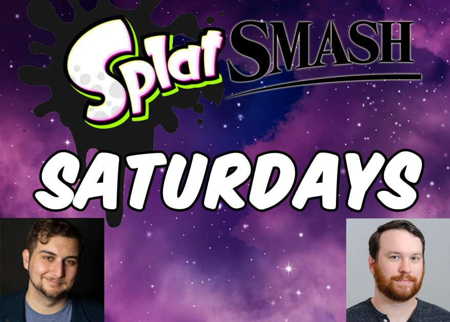 SPLAT SMASH SATURDAYS! This Saturday our guests of honor are: He's Shallot from Dragon Ball Legends & Leon from Pokemon Journeys, @KaggyFilms! He's Kaminari from My Hero Academia & the director for Fire Force, @KylePhillipsFUN! 2pm PST/4pm CST/5pm EST!   https://t.co/xc2QejqvFT https://t.co/lGASdDbJDx