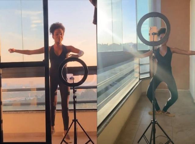 >@Emais_Estadao Após 12 anos, Thelma volta a dançar e faz aulas de balé em casa bit.ly/2ZceKBR