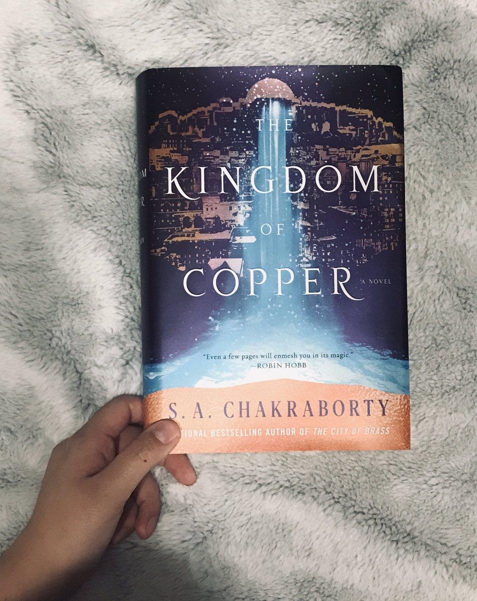 The Kingdom of Copper  four stars pic.twitter.com/aZKfKHFQBy