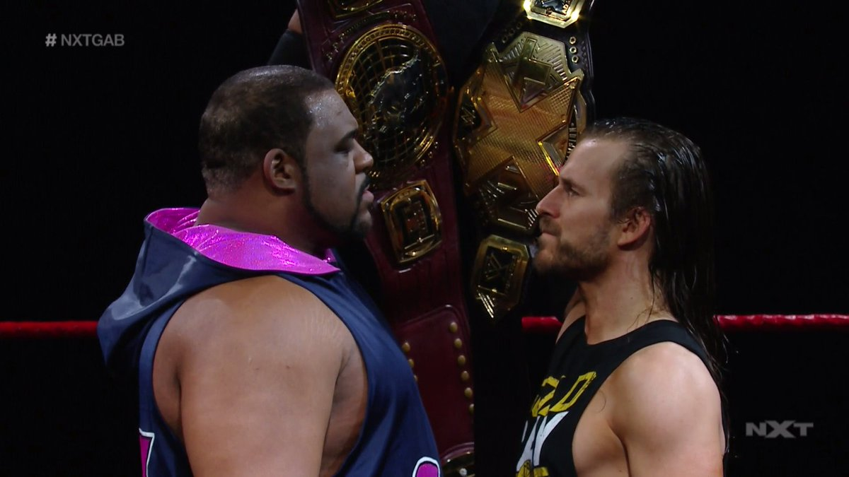 It's all for the taking.   #WWENXT #NXTGAB @AdamColePro @RealKeithLee https://t.co/nYPEoKN9Ul