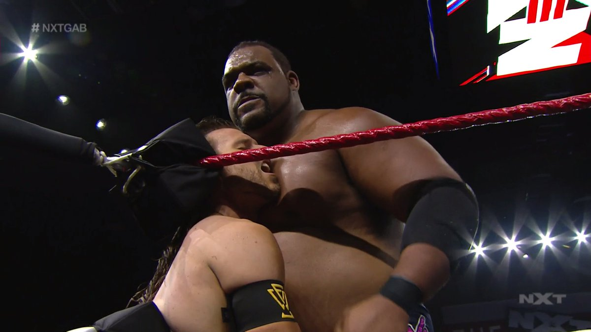 """I must break him."" - @RealKeithLee   #WWENXT #NXTGAB @AdamColePro https://t.co/LFu0WkRv1B"