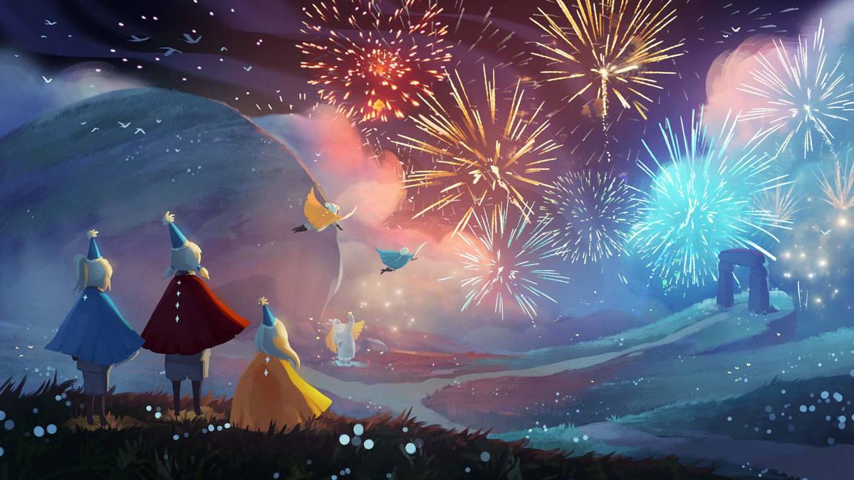 【ニュース】『Sky 星を紡ぐ子どもたち』全世界累計2000万DL突破。アニバーサリーキャンペーンや夏のイベントが開催、祝福とともに楽園の季節が訪れる