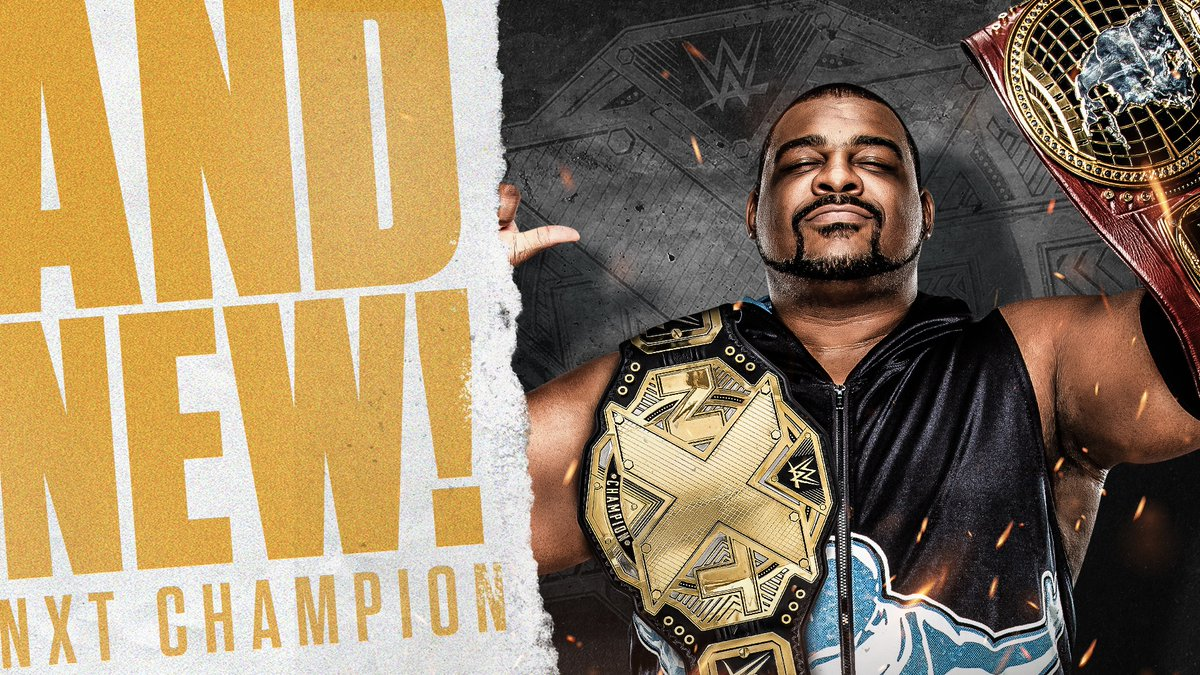 For he is LIMITLESS.  @RealKeithLee is your NEW #NXTChampion AND #WWENXT North American Champion! #NXTGAB #AndNew https://t.co/wz90U9sF5T