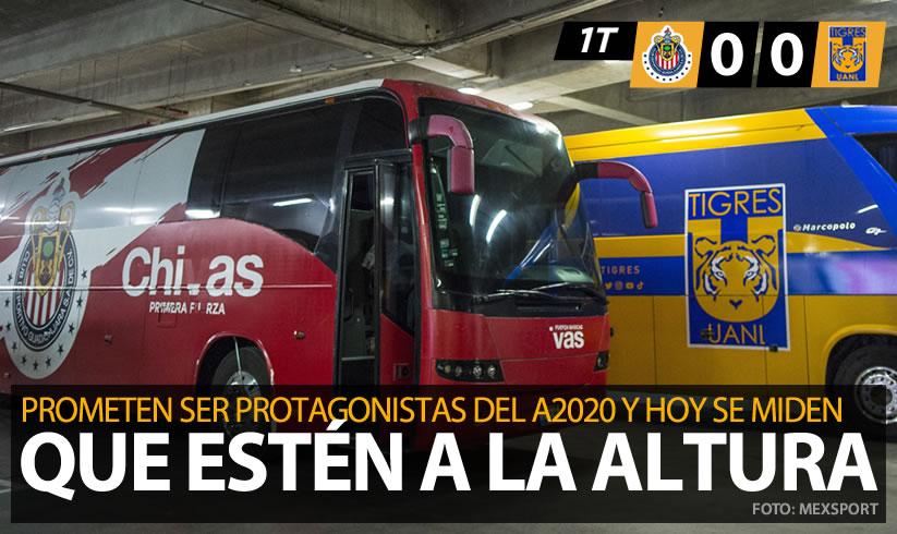 #CopaGNPPorMexico🐐🏆🐯   ¡Chivas y Tigres chocan en la Perla Tapatía por la Copa GNP!  Chivas  vs  Tigres 🔴EN VIVO: https://t.co/FWj5fNQFlW https://t.co/xMLgzyoqJI