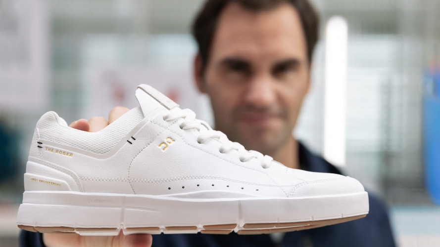 After a 22-year pro career and record 20 Grand Slam titles, @RogerFederer finally has a true signature sneaker. An in-depth look at the Roger and the next chapter of the legends sneaker legacy: bit.ly/2ZPvoq3