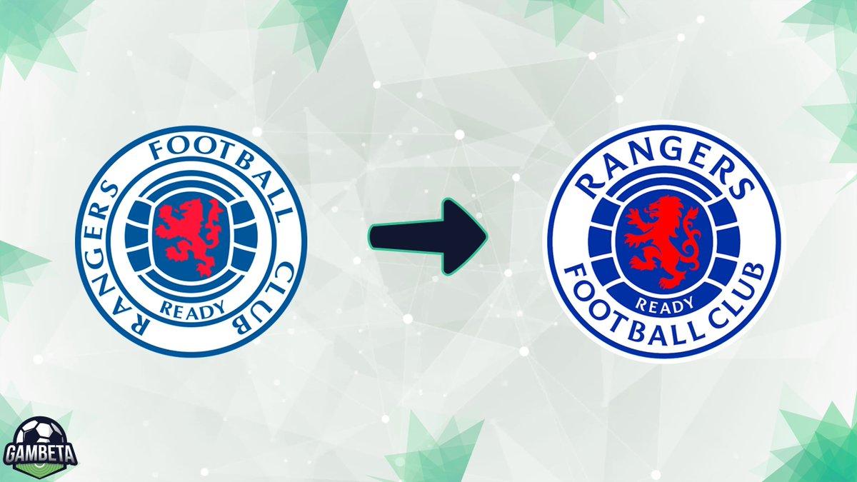 [#ScottishPremiership🏴] ¡#Rangers🏴 actualiza su escudo! El equipo de Glasgow moderniza su emblema manteniendo su estilo pero ajustando tipografía y colores. Además, el león y la pelota del centro también sufren pequeños cambios. El logo no se modificaba desde 1991. https://t.co/kkI4fqFXmj