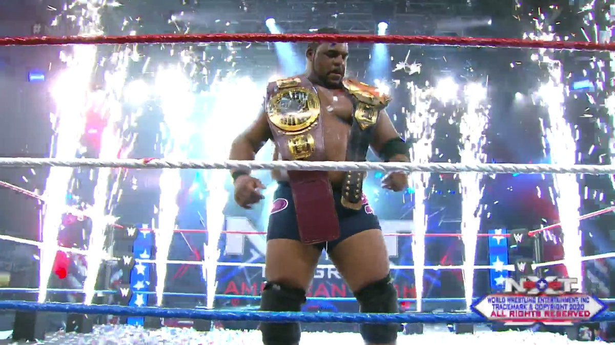 July 8, 2020 will forever be known as the day that #WWENXT became N-X-Lee.  #NXTGAB @RealKeithLee https://t.co/fDaHpZ712N