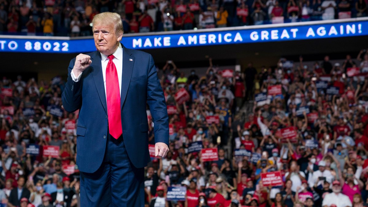 """Trump's plague rally """"more than likely"""" boosted coronavirus surge, top Tulsa health official says https://t.co/g7t5bNmdxx https://t.co/Yi7AvV0CZw"""