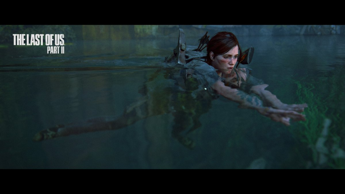 Time to put those swimming lessons to work #TheLastofUsPartII #PS4share https://t.co/X5VOMABIUk