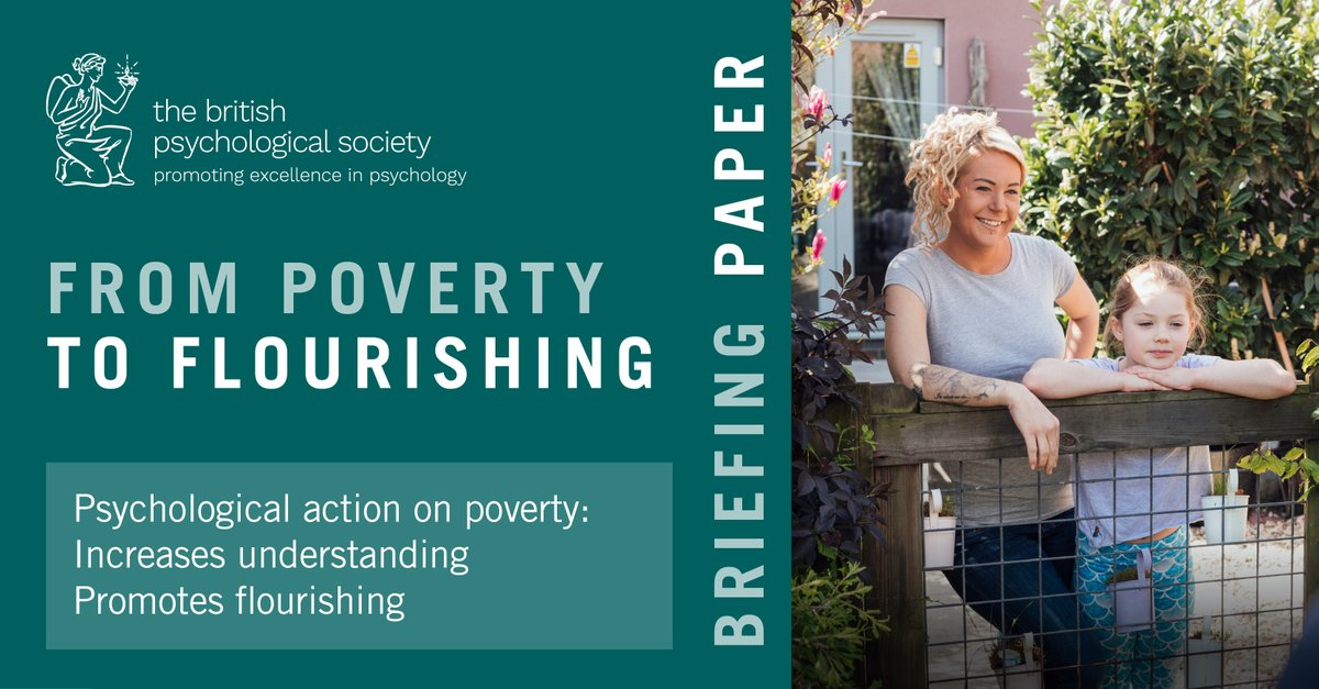We join @BPSOfficial in calling on UK governments to take urgent action with an anti-poverty Strategy with psychology at its heart to make a real difference to people's lives. #PovertytoFlourishing https://t.co/iZakfhMPSw https://t.co/c6Olx6Vbr8