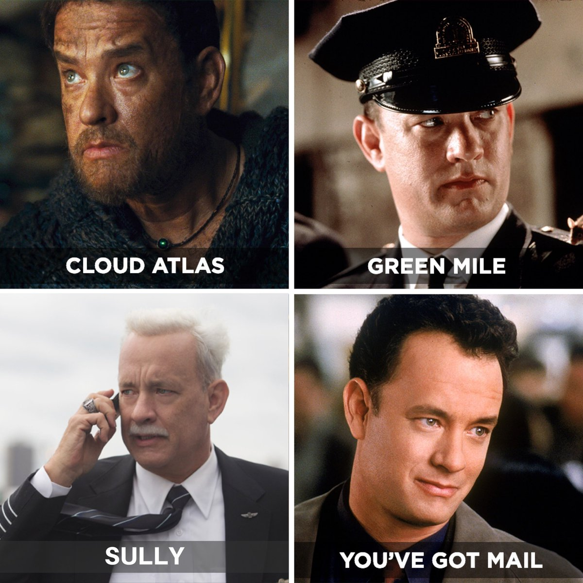 Sometimes all you need is a little Tom Hanks in your life. Got a favourite movie of his?<br>http://pic.twitter.com/8xevuzcJTg