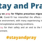 Image for the Tweet beginning: Today we pray for Filipino