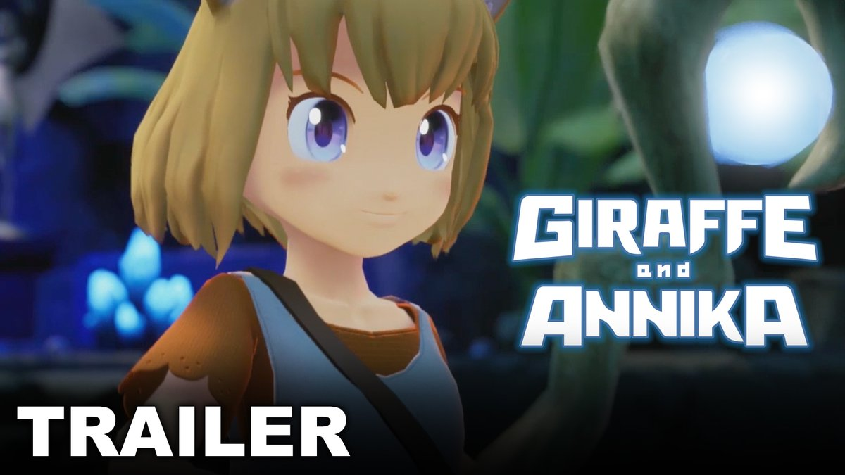 RT @NintendoWelten: Giraffe and Annika : Neuer #Trailer zum charmanten Adventure erschienen #GiraffeAndAnnika #NintendoSwitch #Nintendo #GermanMediaRT - https://t.co/GRyjczlsXi https://t.co/krcPv7DEvk