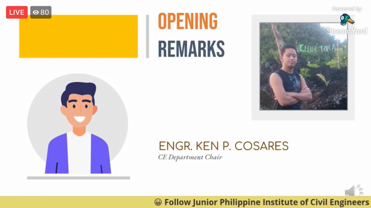 NOW HAPPENING | Engr. Ken P. Cosares gives his opening remarks!