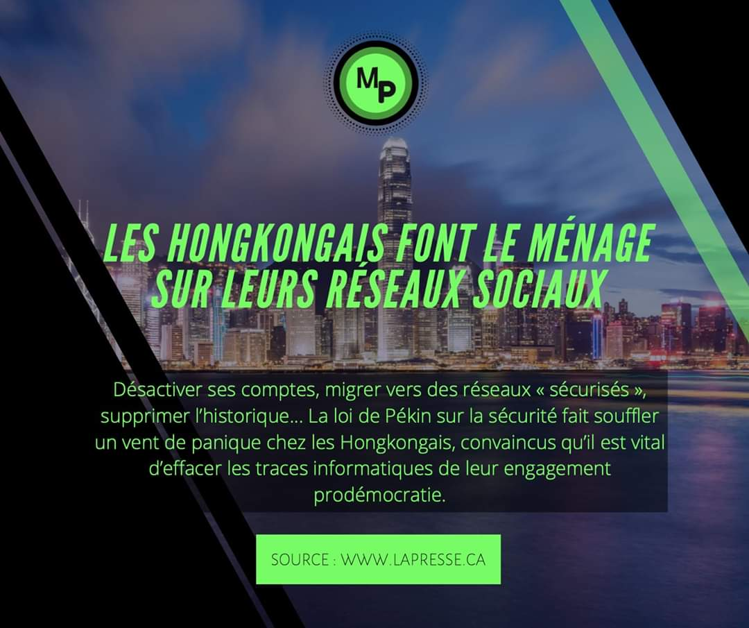 【📰𝙈𝘼𝙔𝙉𝙀𝙒𝙎】 🇭🇰𝗟𝗘𝗦 𝗛𝗢𝗡𝗚𝗞𝗢𝗡𝗚𝗔𝗜𝗦 𝗙𝗢𝗡𝗧 𝗟𝗘 𝗠𝗘́𝗡𝗔𝗚𝗘 𝗦𝗨𝗥 𝗟𝗘𝗦 𝗥𝗘́𝗦𝗘𝗔𝗨𝗫 𝗦𝗢𝗖𝗜𝗔𝗨𝗫  💻 La Presse ➡️ https://t.co/QUJsCH595R -- #hongkong #communitymanager #CM #reseausocial #digital #reseauxsociaux #socialmedia #communication #marketing https://t.co/CeHHGmAX7e