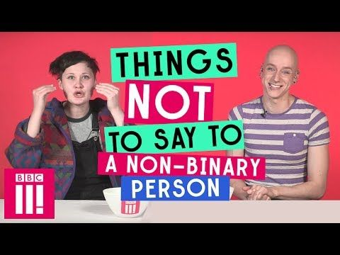 This one from BBC three a few years back on what not to say to non binary people ahead of non binary day next week. buff.ly/2w54Zp0 #ThursdayThoughts #NonBinary