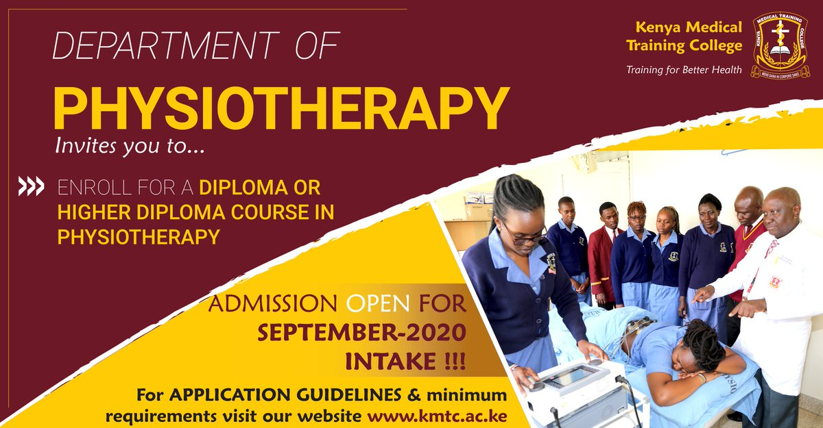 Applications for September intake ongoing on https://t.co/RFMGV2BMG7 https://t.co/Adiot1scN3