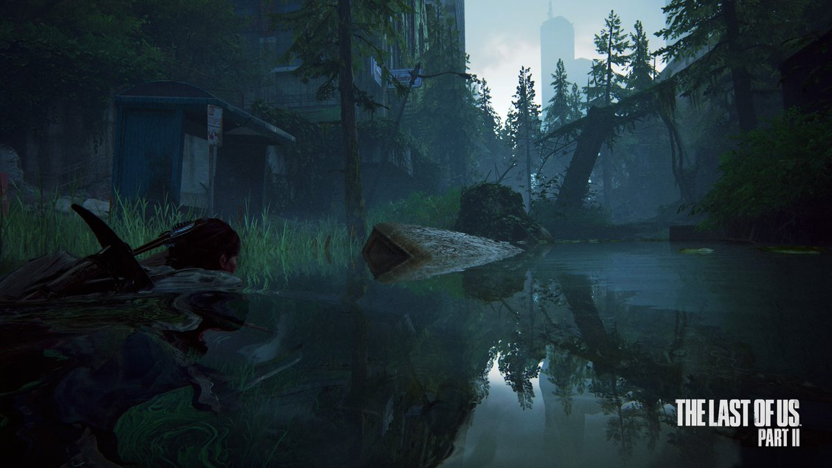 Taking the water route #TheLastofUsPartII #PS4share https://t.co/DfjdcZ0KAv
