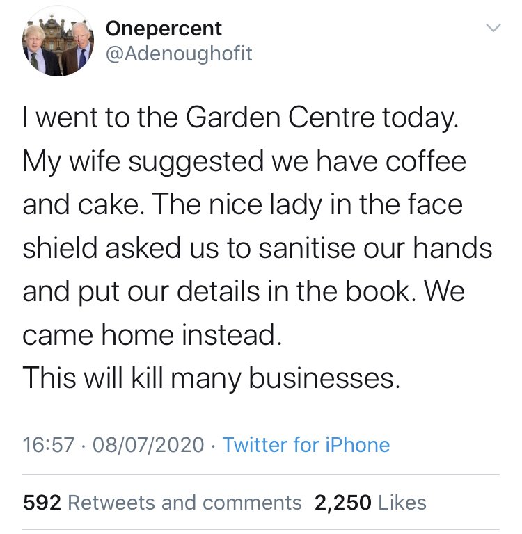 imagine being this precious about being asked to clean your hands https://t.co/qAGYRWaveb