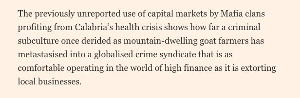 This is an absolutely brilliant piece from start to finish, but I have particularly strong feelings for this nut graph https://t.co/xqASnMfbA6 via @financialtimes Di nuovo, bravissimo @MilesMJohnson https://t.co/X6rksjQdzD