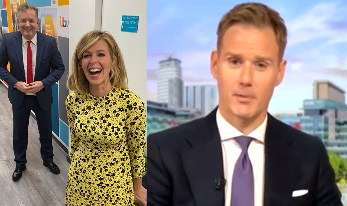 BBC Breakfast star Dan Walker reacts to backlash as he addresses Kate Garraway return https://t.co/XvVC240hEz https://t.co/pdqhGy8pXc