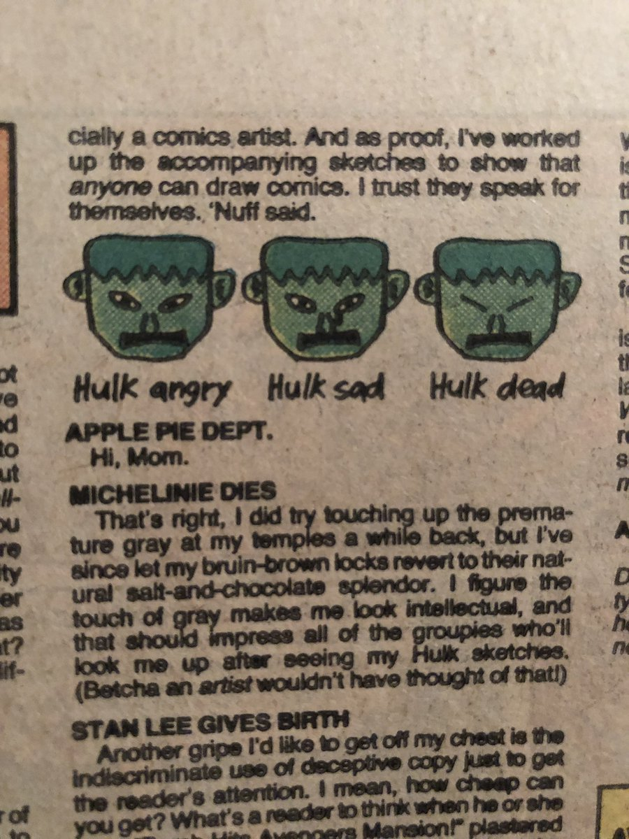 Hulk dead.