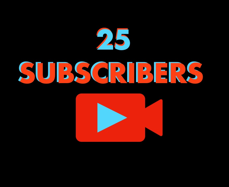 We reached 25 subs today! That means we're 1/4 of the way to our end-of-the-year-goal! :) #smallyoutuber #smallyoutubercommunity #SmallYouTuberArmy #subscribe #SubscriberGoal #Gaming #gamingchannel pic.twitter.com/6KUfnMG0Ko