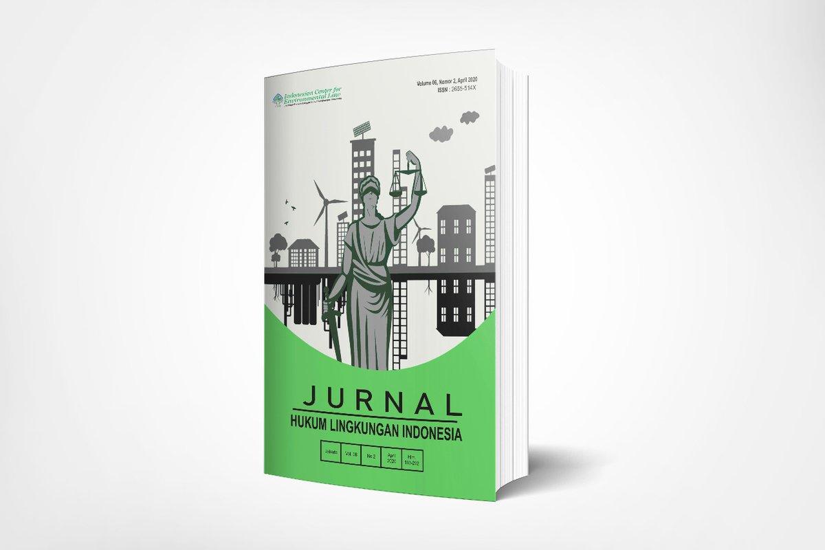 Selamat pagi Sobat Ecojustice!  ICEL kembali menerbitkan Jurnal Hukum Lingkungan Indonesia (JHLI) Vol.6 No.2 (April 2020) lho, jurnal ini dapat kamu akses pada tautan berikut👇  https://t.co/1SE2lMBPwC  #Ecojustice #JurnalHukumLingkungan #JHLI https://t.co/GowsI7gvjd