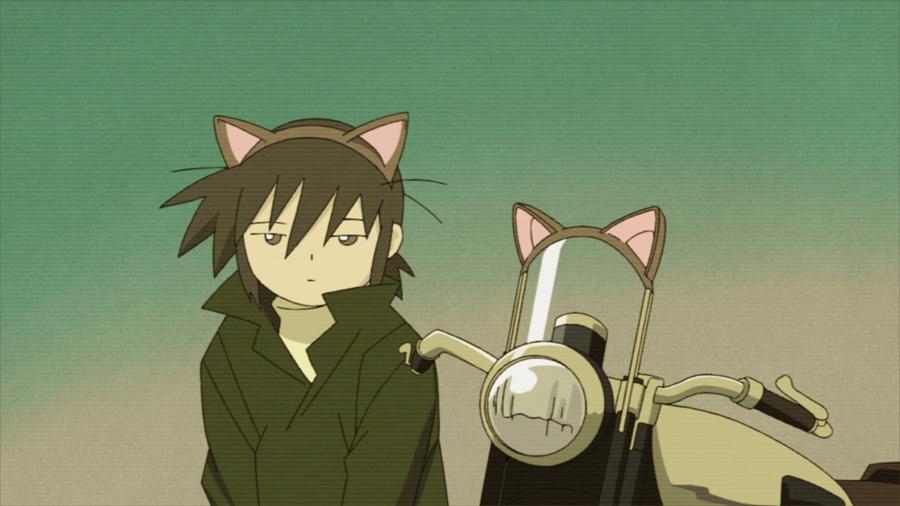 【#キノの旅 20周年記念】TVアニメ第1作『キノの旅 -the Beautiful World-』ニコ生一挙放送は明日7月10日(金)19時~です♪配信ページはこちらからどうぞ明日は猫耳の国でお待ちしております(!?)